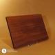 Holzteller Nussholz massiv