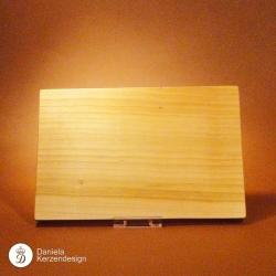 Holzteller Kirschholz massiv, geölt